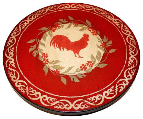 cypress kitchen cabinets rooster lazy susan 18 quot rustic serving trays by lazy 3073