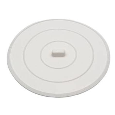 Flat Rubber Sink Stopper by Danco 5 In Flat Suction Sink Stopper In White 89042 The
