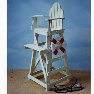 lifeguard chair on