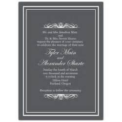 Bridal Shower Invitation Wording by Scrolls Men Wedding Invitations Paperstyle