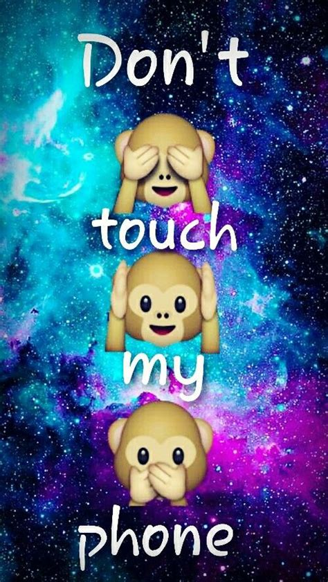Dont touch my phone wallpapers for phone. Dont touch my phone emojis   Dont touch my phone wallpapers, Emoji wallpaper iphone, Phone emoji