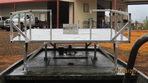 Bowfishing Boat Railing by 60 Quot X 52 Quot Bowfishing Deck