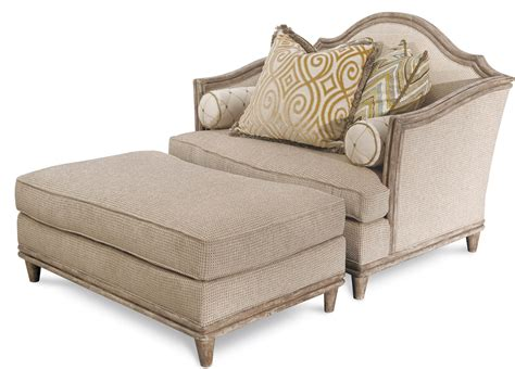 chair and a half with ottoman sale monterrey wood trim chair and a half