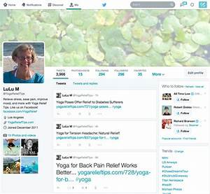 Twitter Page Layout Template Gallery - Template Design Ideas