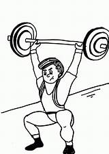 Weights Drawing Weight Coloring Getdrawings sketch template