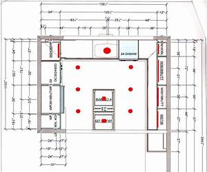 Kitchen recessed lighting layout design s ade ca d