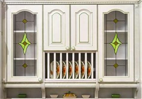 stained glass kitchen cabinet inserts glass front cabinet styles lovetoknow 8222