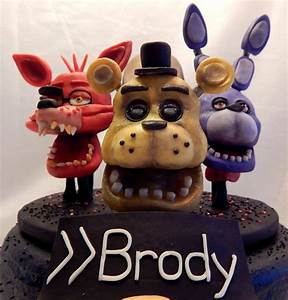 Five Nights At Freddy's Cake - CakeCentral com