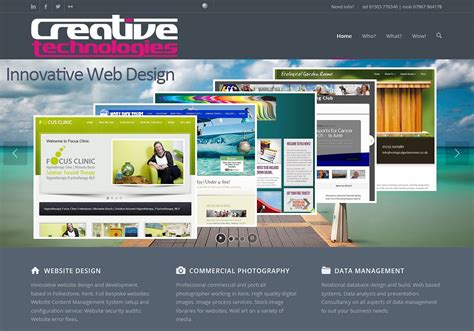 websites for website design folkestone kent mat mackenzie creative technologies