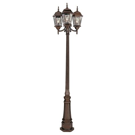 l post light fixtures bel air atkinson outdoor l post 96h in outdoor