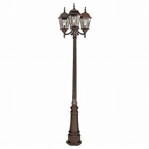 Bel air atkinson outdoor lamp post h in