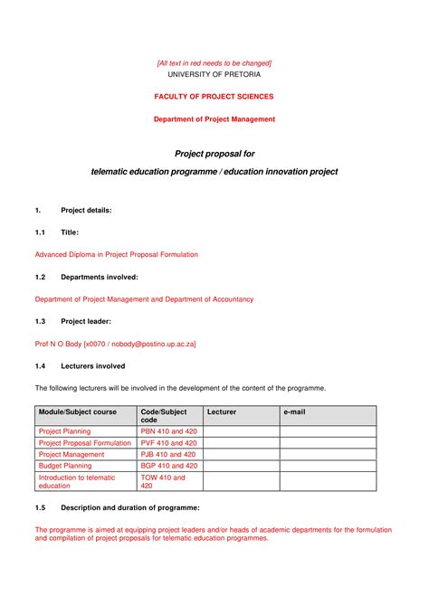 student project proposal examples  word examples