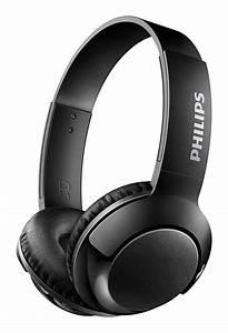 Philips, Bass, On, Ear, Wireless, Bluetooth, Headphones, With, Mic, -, Black
