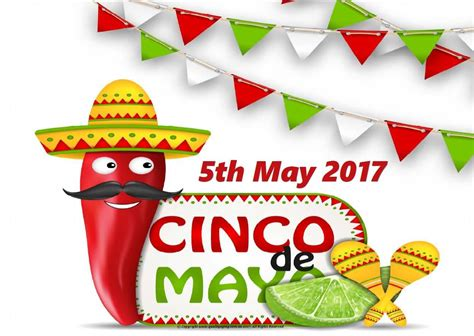 Cinco De Mayo 2017 Greeting Card