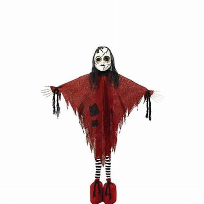 Doll Creepy Standing Decoration Giant Dead Scarecrow