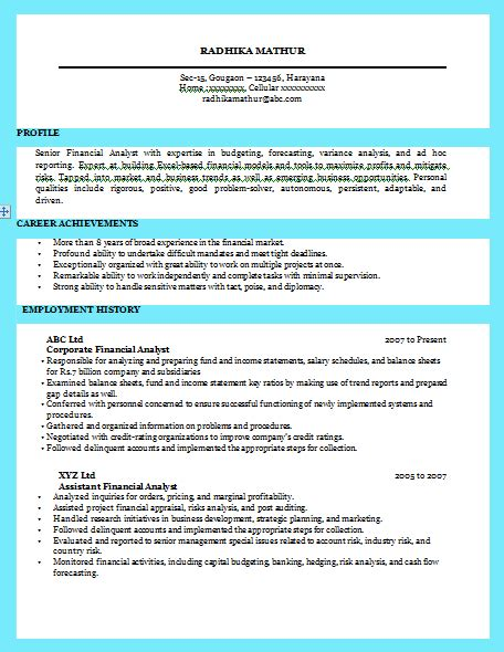Exle Of Excellent Cv by 10000 Cv And Resume Sles With Free