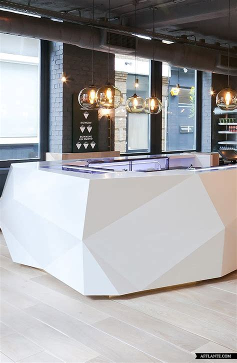 Niche Modern Solitaire Pendants at Yoobi Sushi, London?s