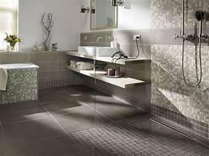 Badezimmer Fliesen Ideen Mosaik : fliesen und mosaik in der begehbaren dusche badezimmer ~ Watch28wear.com Haus und Dekorationen