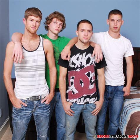 Hot Twink Foursome Blake Brandon Sam And Max At Broke