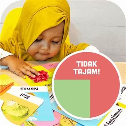 Rodiya Flashcard Pada Tidak Anak Rounded Corner