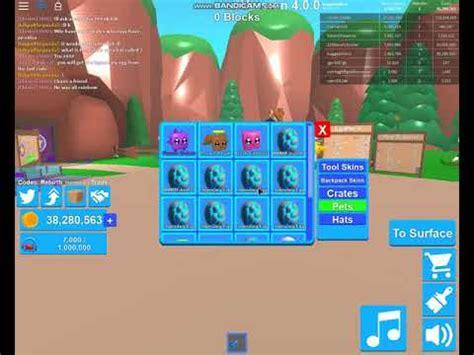 legendary egg  crates  mining simulator secret