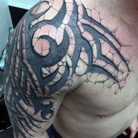 tribal arm tattoos  men interwoven  design ideas