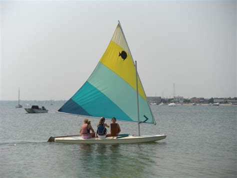Jaws Sailboat by The Quot Shark Quot That Shut Duxbury Was Actually A Sunfish