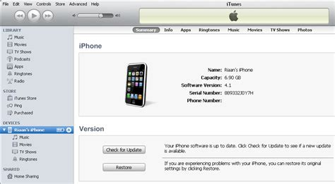 iphone serial number lookup how to find your iphone or ipod touch serial number