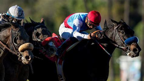 game medina spirit earns hard fought victory  robert