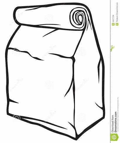 Bag Paper Clipart Bags Sign Vector Symbol