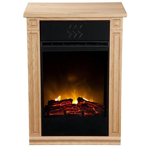 heat surge electric fireplace heat surge accent electric fireplace light oak home