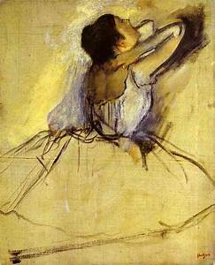 Dancer - Edgar Degas Painting