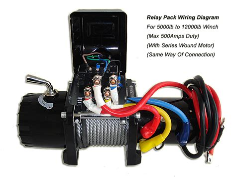 new runva 500a electric winch solenoid relay 12v 5000lb to
