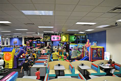 Bigger, Better Birthday Parties at Chuck E. Cheese's ...