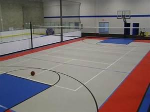 Indoor multi-purpose court by Flex Court | Court ...