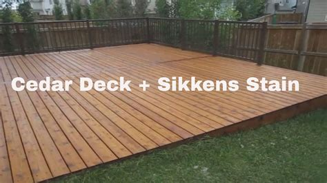 sikkens proluxe deck stain tyresc