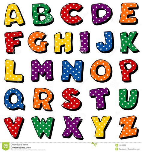 polka dot alphabet letters images polka dot alphabet stock vector illustration of design 21987