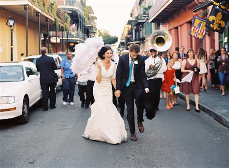 Southern Weddings Second Line Inspiration