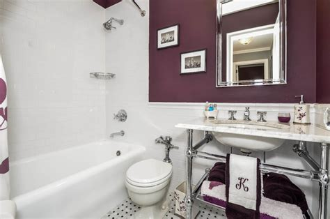best plumbing tile purple bath traditional bathroom new york by best