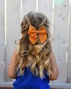 Coiffure Facile Pour Petite Fille : coiffure petite fille 90 id es pour votre petite princesse ~ Nature-et-papiers.com Idées de Décoration