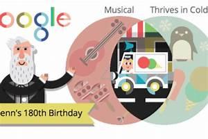 Venn Diagram Google Doodle Game  Celebrate The 180th