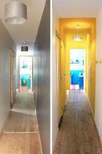 decoration couloir 25 idees geniales a decouvrir With couleur pour couloir sombre