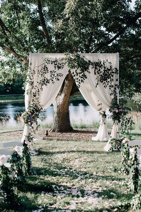 brilliant garden wedding decoration ideas