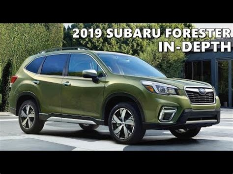 subaru forester unveiling review youtube