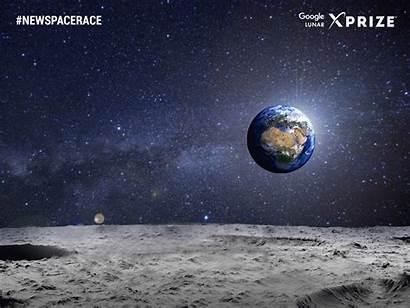 Moon Landing Google Race Spaceil Space Spacecraft