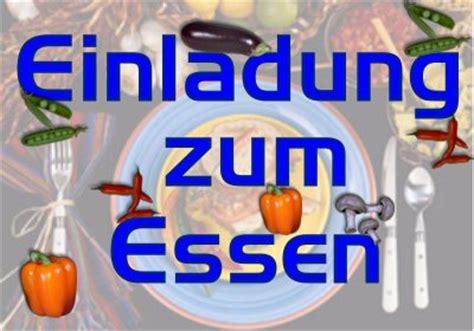 digital postcard bild einladung zum essen