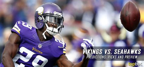 vikings  seahawks  nfl preseason predictions picks