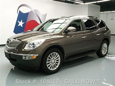 Buy Used 2010 Buick Enclave Cxl 8 Pass Rear Cam Htd Seats