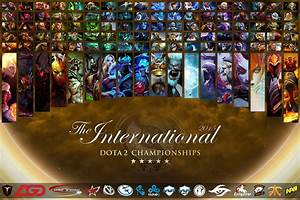 Heroes Of The International 2015 All Heroes Wallpaper TI5