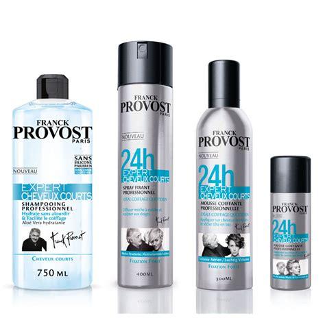 cuisine haute gamme franck provost crée une ligne de soins capillaires pour les cheveux courts beauté plurielles fr
